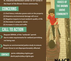 Help us amplify the voices of the Brown Grove community! Please submit your concerns by 8/4/2020